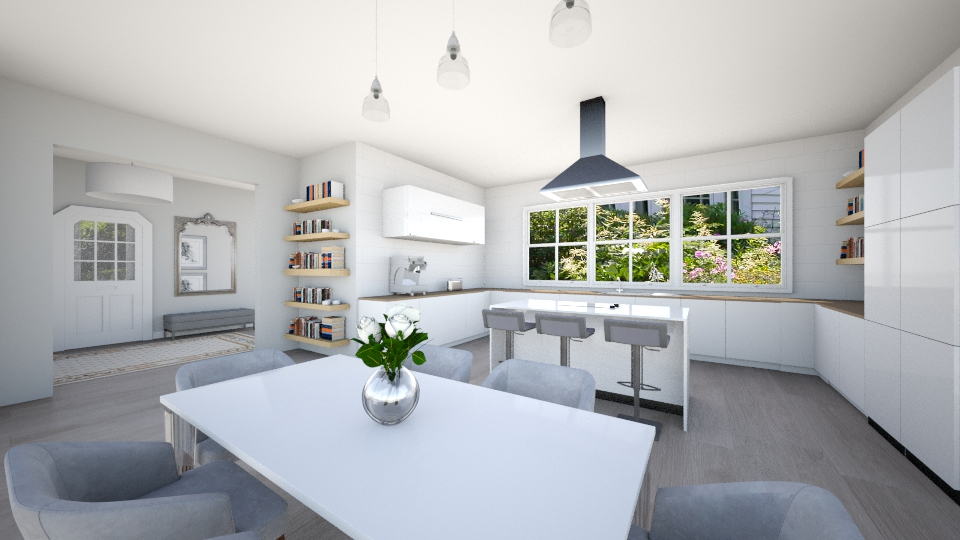 Open Kitchen  - Kitchen - by Ana Mercedes