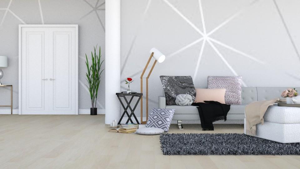 Geometric Wall - Modern - Living room - by LeilaniD04