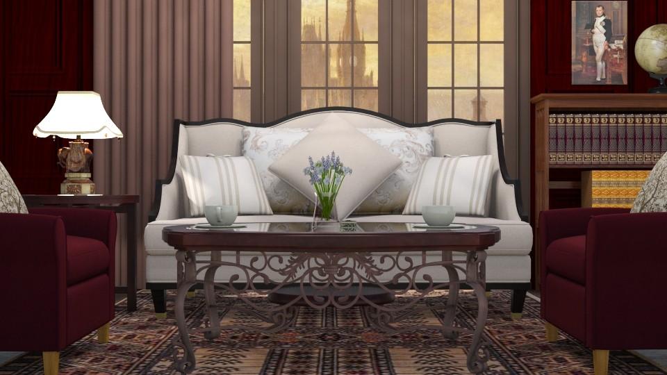 19th century - Classic - Living room - by ljiljanan