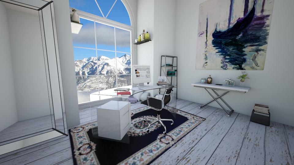 home office - Modern - Office - by skylerbrown