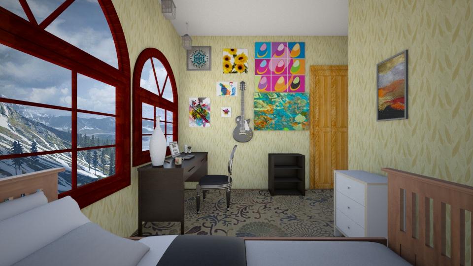 my room literally  - by Mykala Hood