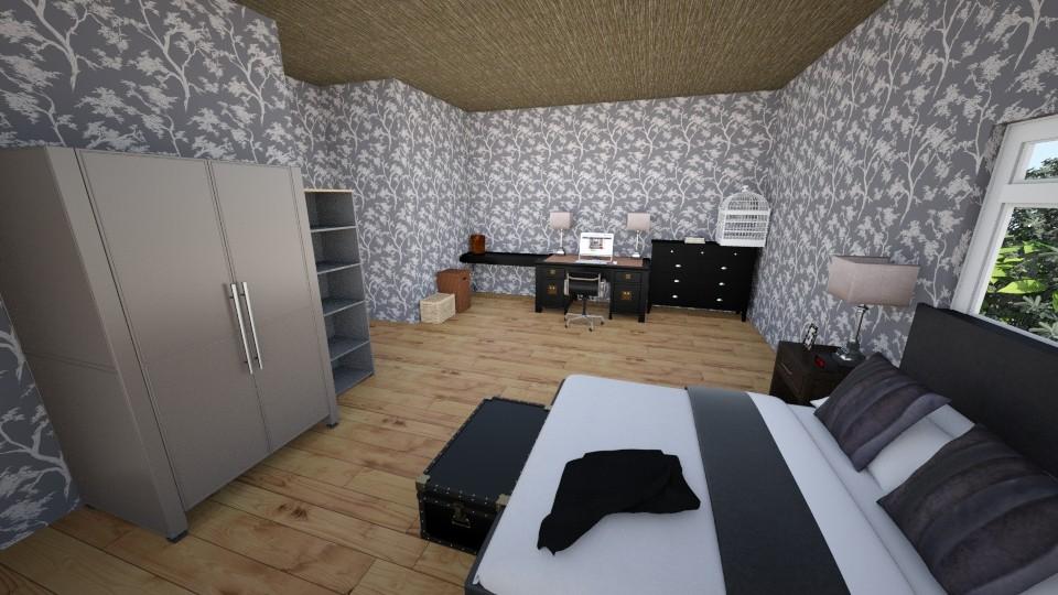 Nights Room - Bedroom - by scourgethekid