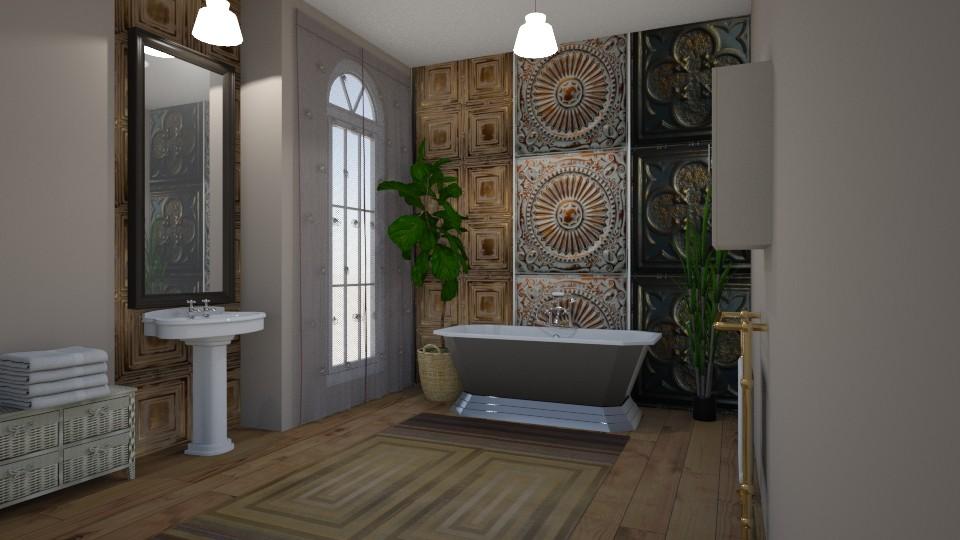 Room 18 - Bathroom - by Tiffany Y