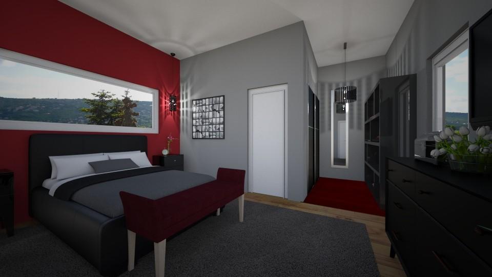 bedroom - Bedroom - by Eszter Potor