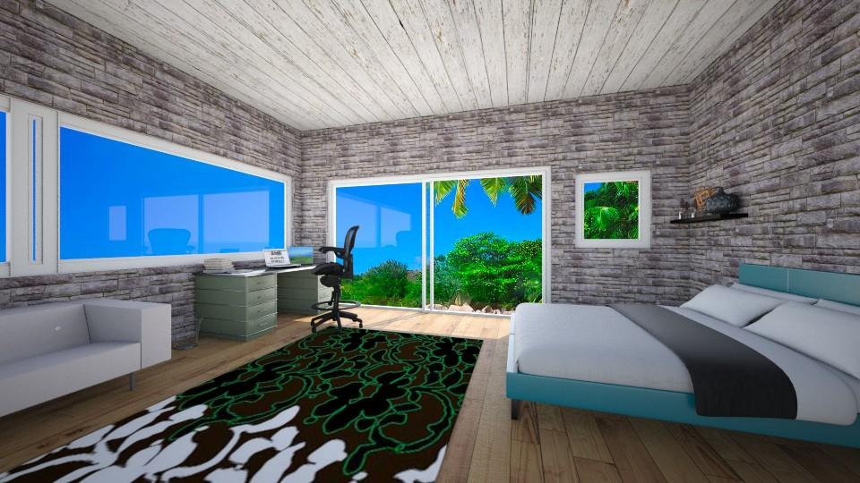costa rica - Bedroom - by Dasha Chukalovskaya