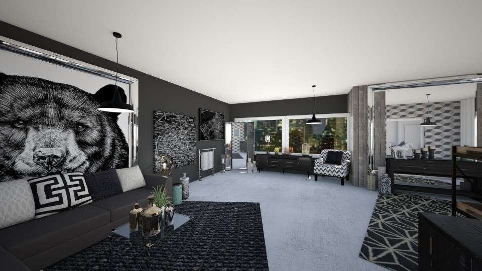 Ground Floor - Living room - by miaxxx