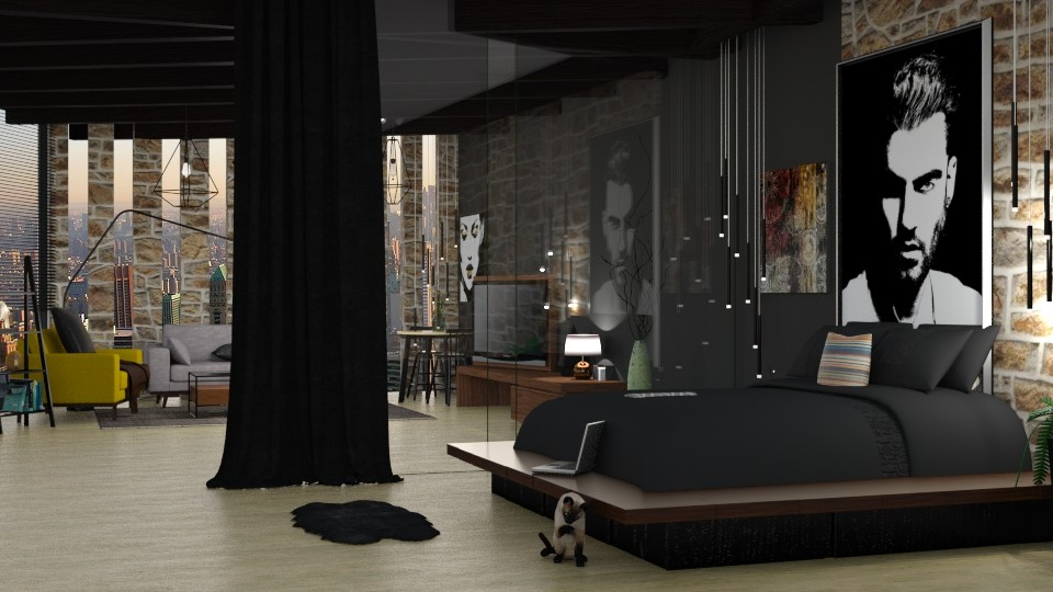 Combined Living  Bedroom - by Alda Neziri