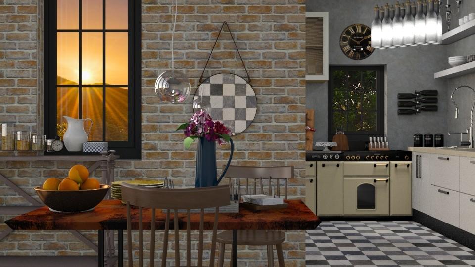 Idustrial - Modern - Kitchen - by Gurns