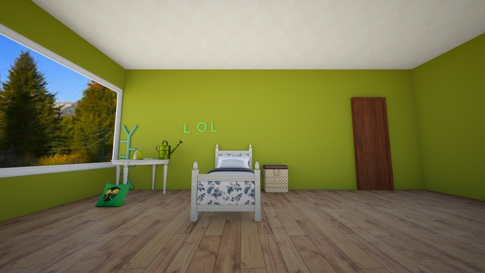 mazys  room - Bedroom - by MY10096