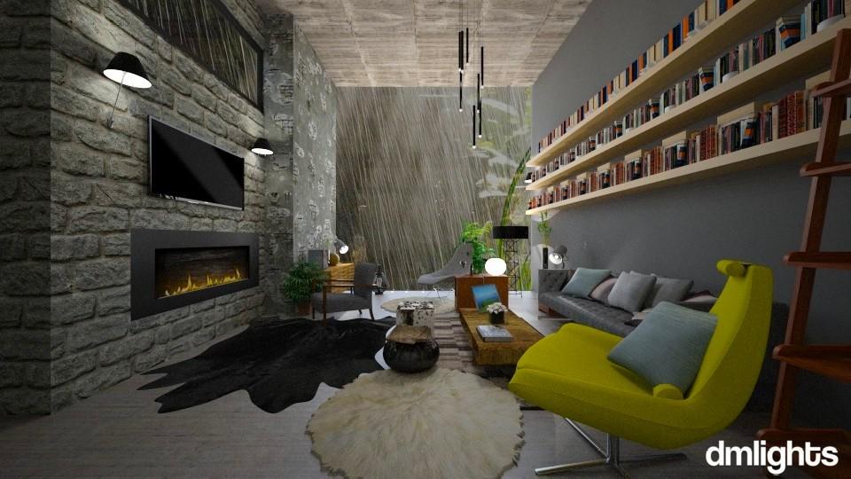 raining_all_day - Living room - by Mihailovikj Mimi