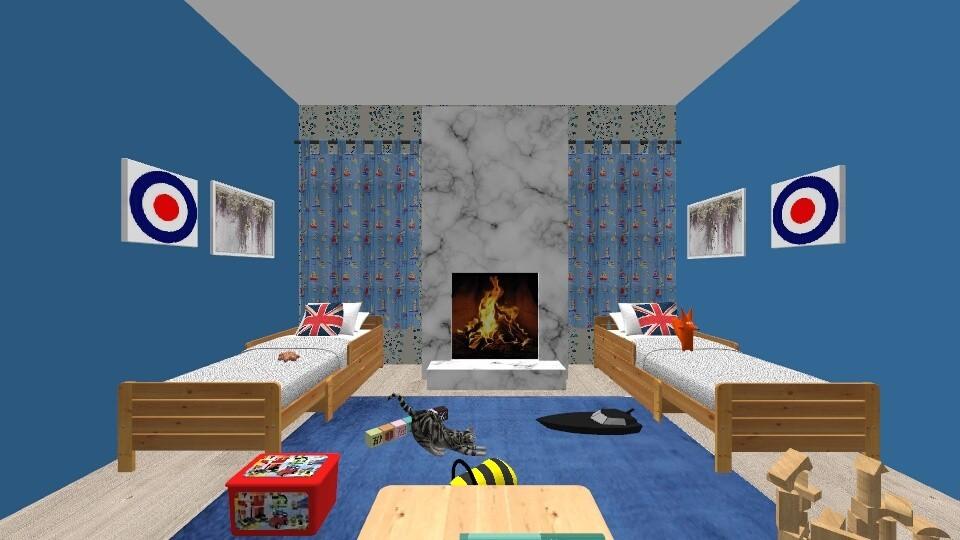 Home Run For Boys - Modern - Kids room - by hdricci01123890