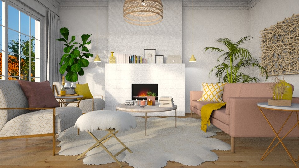 More Is More - Living room  - by anjaam