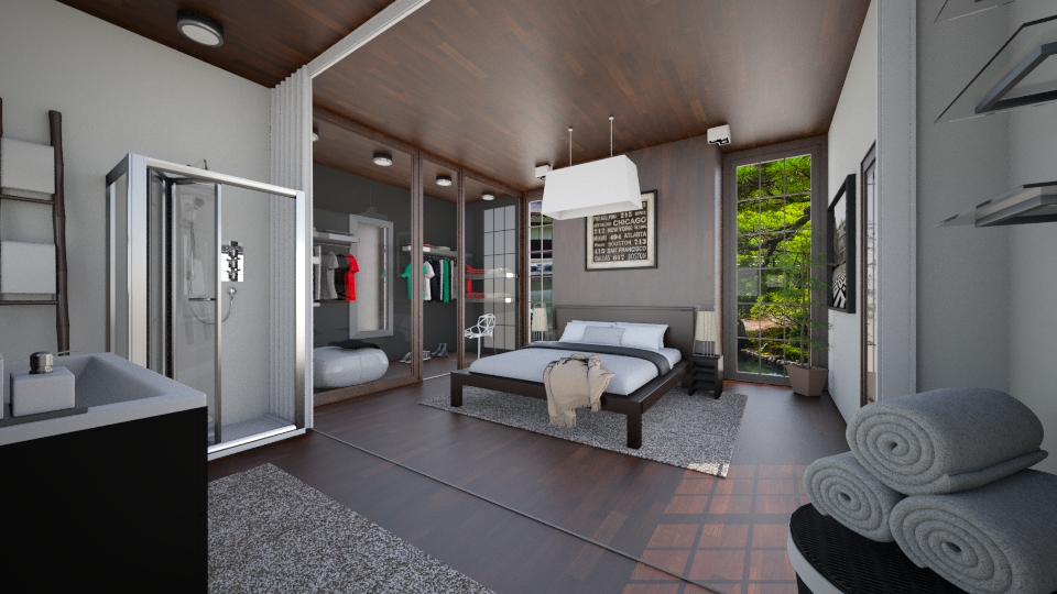 Zhoa - Bedroom - by Sali15