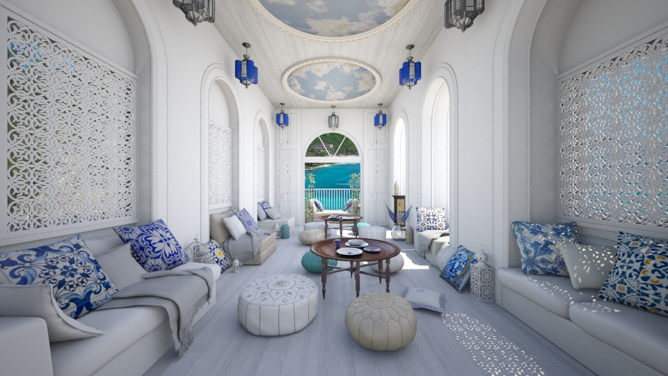 Moroccan Relax - Living room - by Laurika