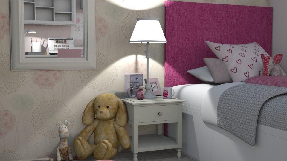 test - Kids room  - by Georgia Perrou