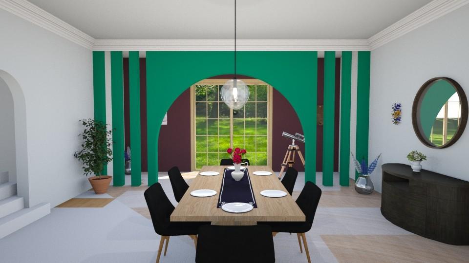 Modern Dining - Dining room - by inkblot01
