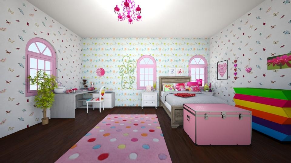 sweet - Bedroom - by Deni star
