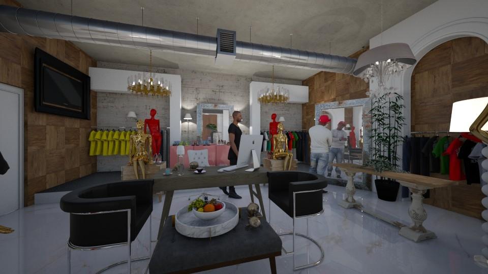 Fashion _Clothes_Store - Modern - Living room - by Nikos Tsokos