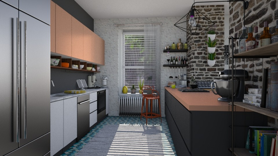 Rain - Modern - Kitchen - by katarina_petakovi