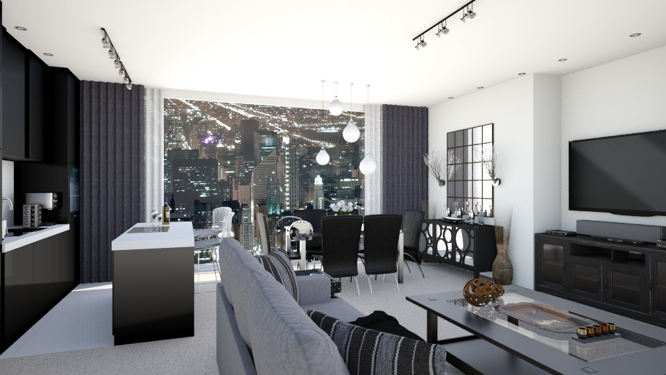 ChicagoTheContemporary2 - Modern - Living room - by LadyVegas08