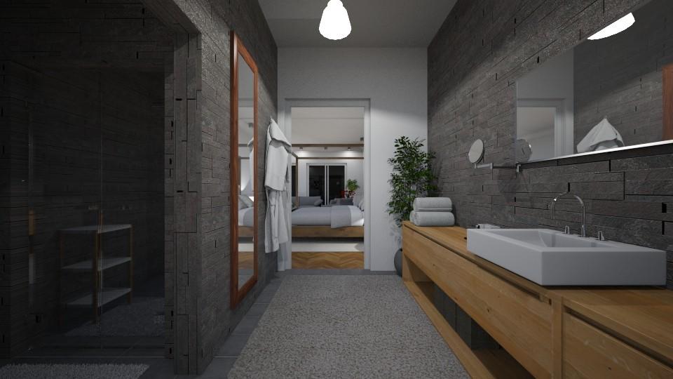 Hotel Bathroom - Modern - Bathroom - by GIANNI VANCOMPERNOLLE