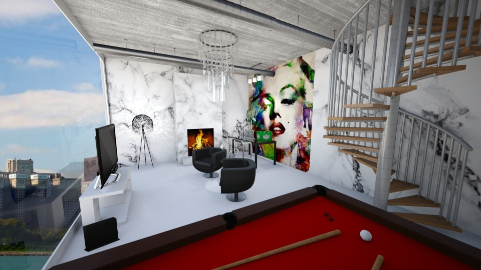 Monroe Show Room   - Living room - by Brabbit SD