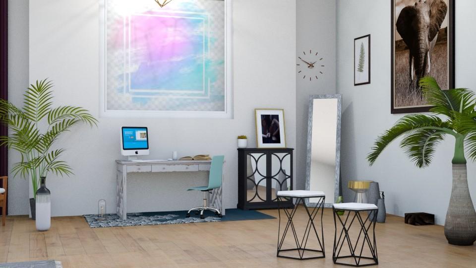 modern office - Office - by horseygirl Xx