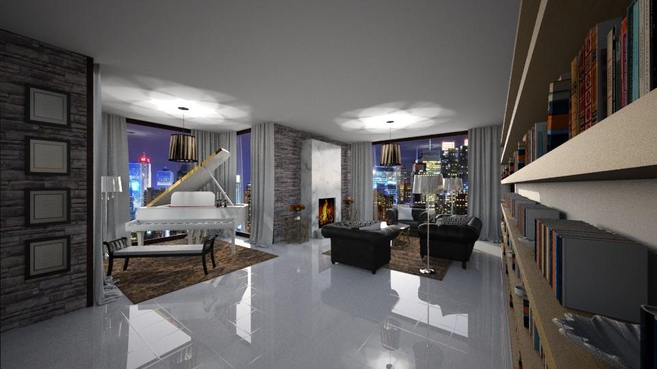 piano - Living room - by seldina