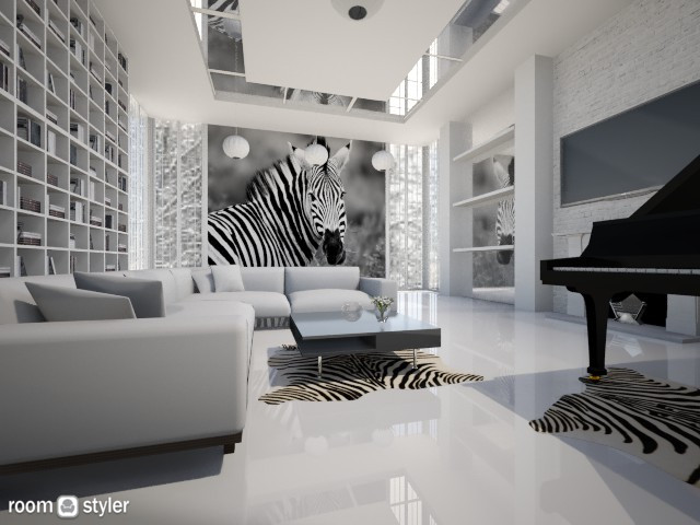Zebra - by mirkaaa