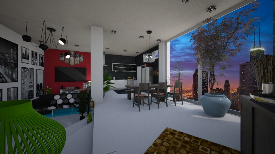 Jaks Apartment - Modern - by Candleshy