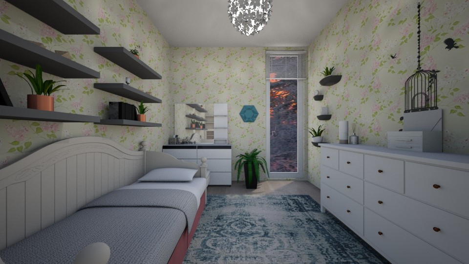 small teenage room - Bedroom  - by Aycan Ismail