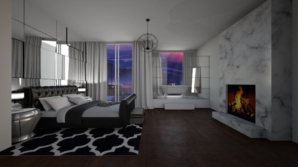 n - Bedroom - by seldina